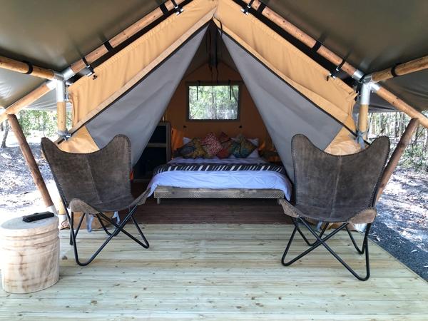 Safari Tents Inside